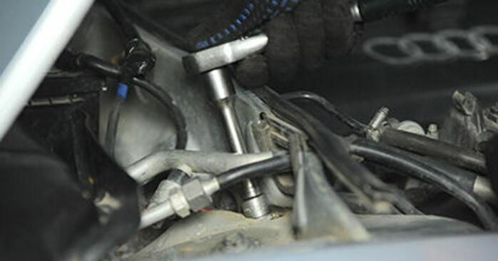 Domlager Audi A4 B5 1.8 1996 wechseln: Kostenlose Reparaturhandbücher