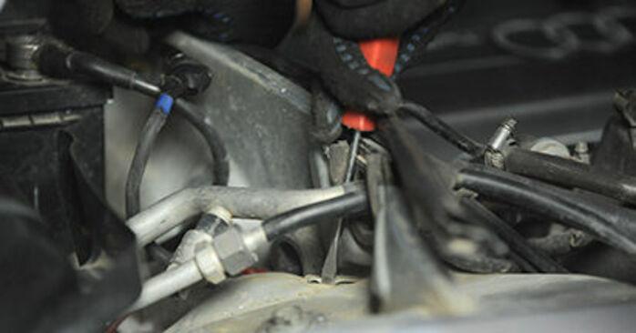 Wechseln Domlager am AUDI A4 Limousine (8D2, B5) 1.8 T 1997 selber