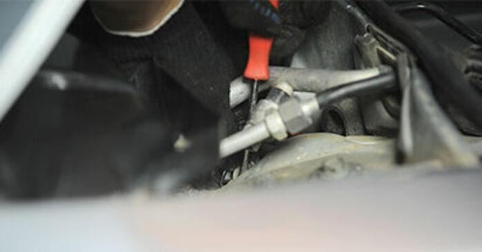 Domlager am AUDI A4 Limousine (8D2, B5) 1.9 TDI quattro 1999 wechseln – Laden Sie sich PDF-Handbücher und Videoanleitungen herunter