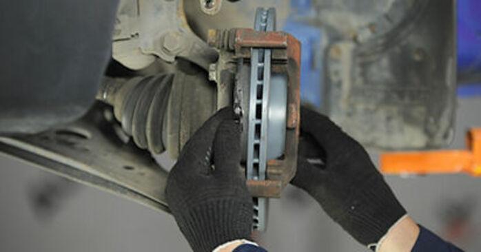 Bremsbeläge beim VW LUPO 1.4 FSI 2005 selber erneuern - DIY-Manual