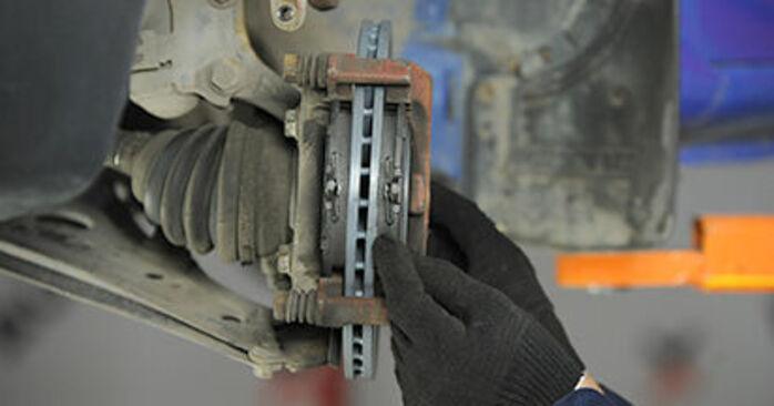 Bremsbeläge Ihres VW Lupo 6x1 1.2 TDI 3L 1998 selbst Wechsel - Gratis Tutorial