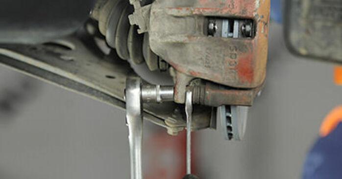 Lupo (6X1, 6E1) 1.4 TDI 2001 1.0 Bremsbeläge - Handbuch zum Wechsel und der Reparatur eigenständig