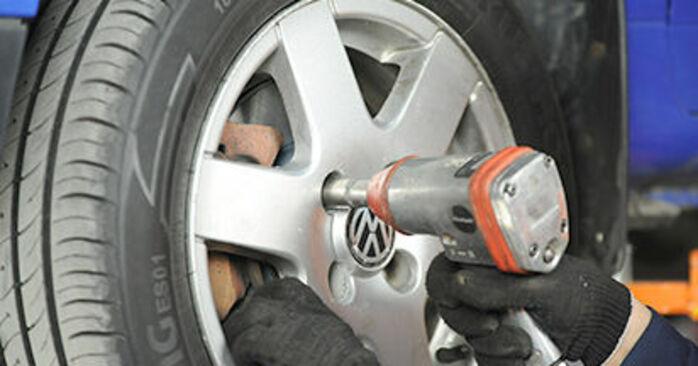 Zweckdienliche Tipps zum Austausch von Bremsbeläge beim VW Lupo (6X1, 6E1) 1.4 2004