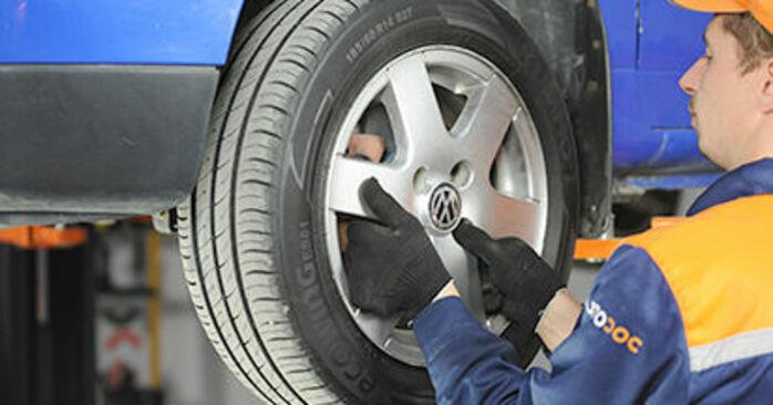 Wie Bremsbeläge VW Lupo (6X1, 6E1) 1.0 1999 austauschen - Schrittweise Handbücher und Videoanleitungen