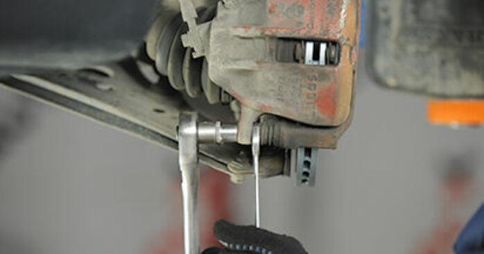 Bremsbeläge VW Lupo 6x1 1.4 2000 wechseln: Kostenlose Reparaturhandbücher