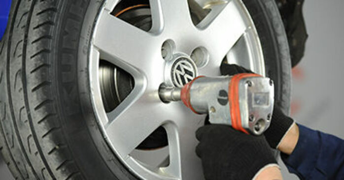 Wie Bremsbacken VW Lupo 6x1 1.2 TDI 3L 1998 tauschen - Kostenlose PDF- und Videoanleitungen