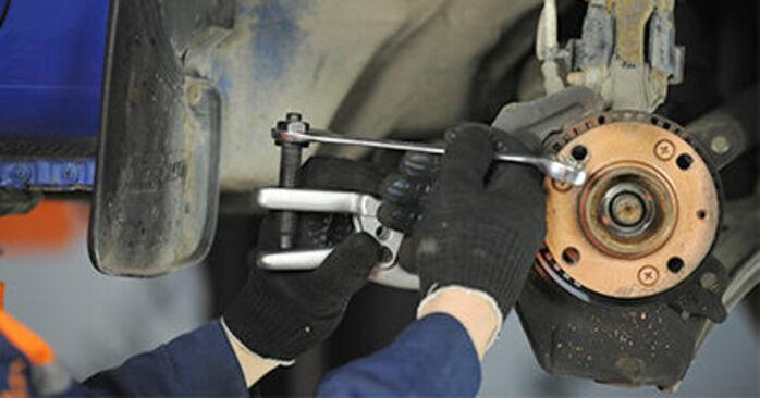 Sostituendo Cuscinetto Ruota su VW Lupo 6x1 2000 1.2 TDI 3L da solo