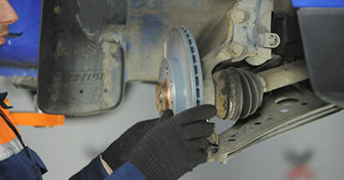 How to remove VW LUPO 1.4 TDI 2002 Wheel Bearing - online easy-to-follow instructions