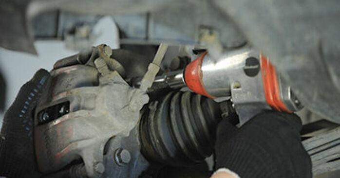 Hvor lang tid tager en udskiftning: Hjulleje på VW Lupo 6x1 1998 - informativ PDF-manual