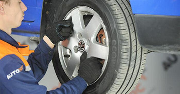 Come sostituire VW Lupo (6X1, 6E1) 1.2 TDI 3L 1999 Cuscinetto Ruota - manuali passo passo e video guide