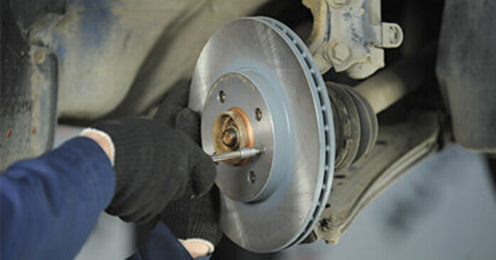 How to replace Wheel Bearing on VW Lupo (6X1, 6E1) 2003: download PDF manuals and video instructions