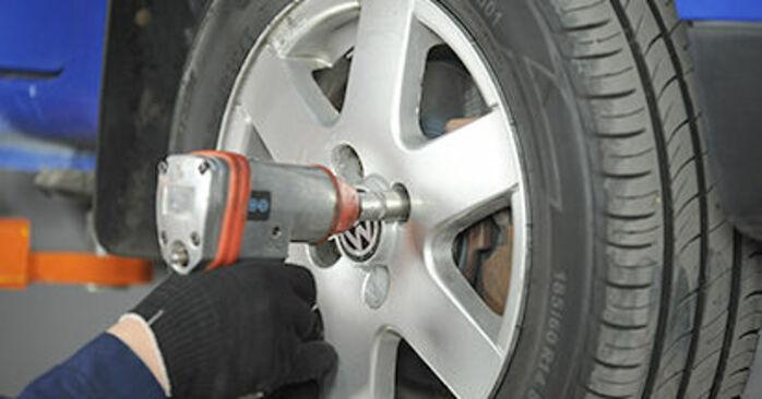 Austauschen Anleitung Spurstangenkopf am VW Lupo 6x1 2000 1.2 TDI 3L selbst