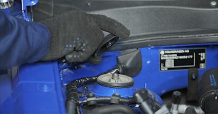 Come cambiare Supporto Ammortizzatore su VW Lupo 6x1 1998 - manuali PDF e video gratuiti