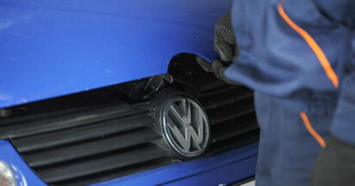 VW Lupo 6x1 1.0 2000 Supporto Ammortizzatore sostituzione: manuali dell'autofficina