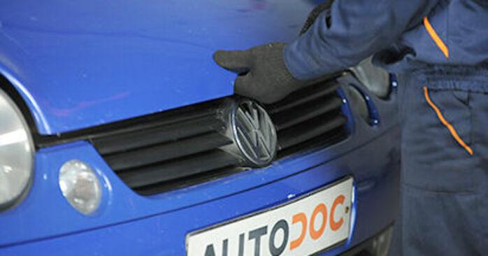 Come sostituire Supporto Ammortizzatore su VW Lupo (6X1, 6E1) 2003: scarica manuali PDF e istruzioni video