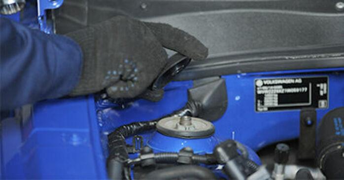 Quanto è difficile il fai da te: sostituzione Supporto Ammortizzatore su VW Lupo 6x1 1.6 GTI 2004 - scarica la guida illustrata