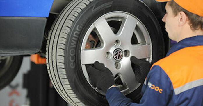 Tausch Tutorial Traggelenk am VW Lupo (6X1, 6E1) 2002 wechselt - Tipps und Tricks