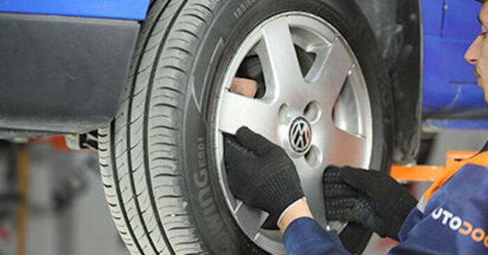 Jak vyměnit Brzdovy kotouc na VW Lupo (6X1, 6E1) 2002 - tipy a triky
