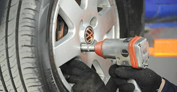 Podrobná doporučení pro svépomocnou výměnu VW Lupo 6x1 2003 1.4 TDI Brzdovy kotouc