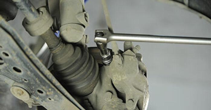 Svépomocná výměna Brzdovy kotouc na VW Lupo (6X1, 6E1) 1.4 16V 2001