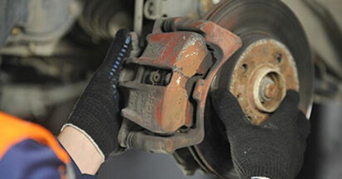 Jak odstranit VW LUPO 1.4 TDI 2002 Brzdovy kotouc - online jednoduché instrukce
