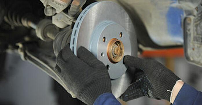 VW LUPO 2005 Brzdovy kotouc návod na výměnu, krok po kroku