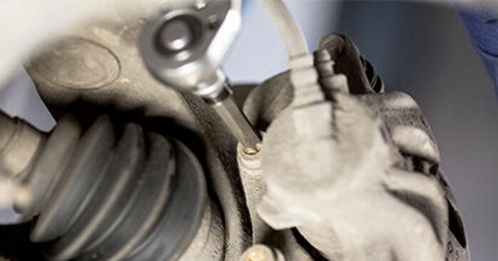 Cómo cambiar Discos de Freno en un CITROËN C3 I Hatchback (FC_, FN_) 2014 - consejos y trucos