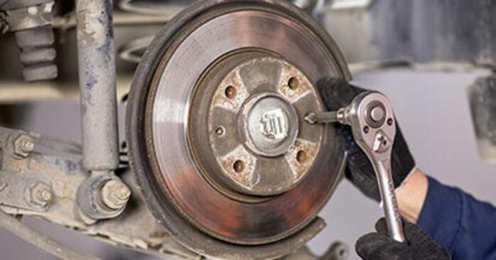C3 I Schrägheck (FC_, FN_) 1.4 16V HDi 2013 1.4 i Bremsscheiben - Handbuch zum Wechsel und der Reparatur eigenständig