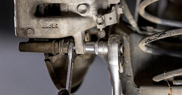Bremsscheiben Ihres CITROËN C3 I (FC_) 1.4 HDi 2010 selbst Wechsel - Gratis Tutorial