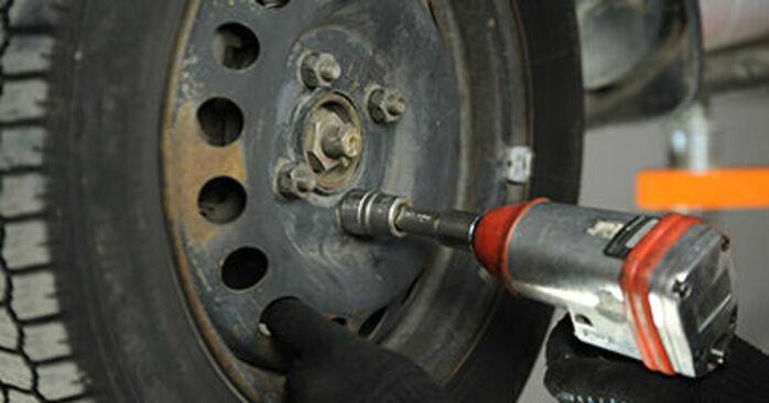 MICRA II (K11) 1.0 2003 1.3 i 16V Bremsscheiben - Handbuch zum Wechsel und der Reparatur eigenständig