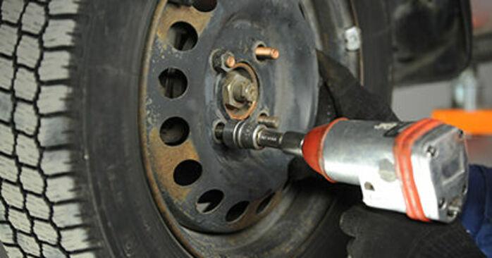 Wie Bremsbeläge Nissan Micra k11 1.0 i 16V 1992 tauschen - Kostenlose PDF- und Videoanleitungen