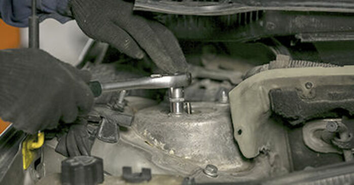 How hard is it to do yourself: Springs replacement on Peugeot 407 Saloon 2.0 16V 2010 - download illustrated guide
