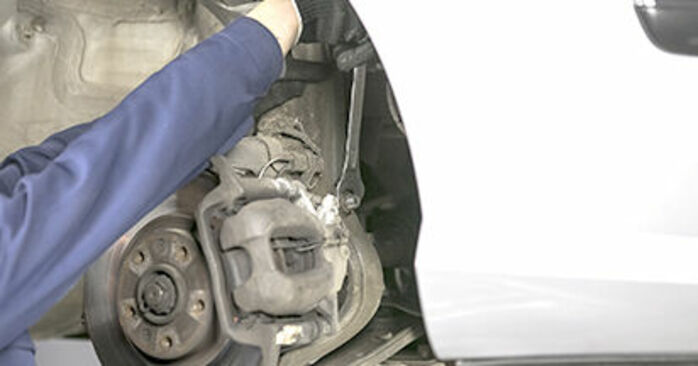 How to replace Springs on PEUGEOT 407 (6D_) 2009: download PDF manuals and video instructions