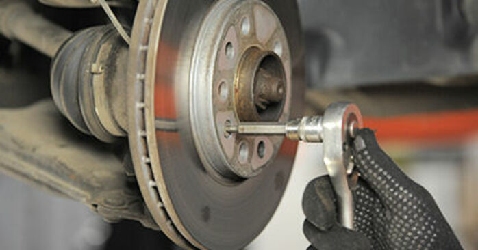 Changing Brake Discs on OPEL Astra H Hatchback (A04) 1.3 CDTI (L48) 2007 by yourself