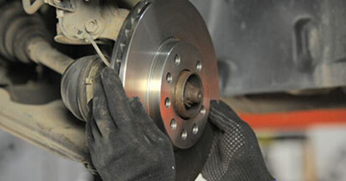 How to replace Brake Discs on OPEL Astra H Hatchback (A04) 2009: download PDF manuals and video instructions