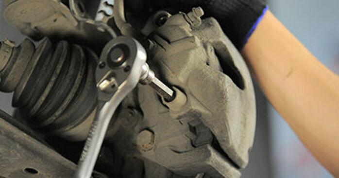 Πόσο δύσκολο είναι να το κάνετε μόνος σας: Τακάκια Φρένων αντικατάσταση σε Opel Astra h l48 1.7 CDTI (L48) 2010 - κατεβάστε τον εικονογραφημένο οδηγό