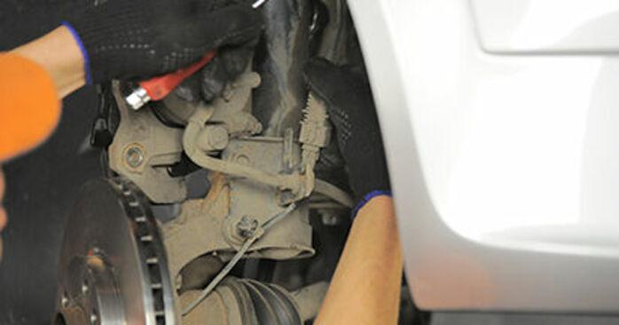 Modifica Cuscinetto Ruota su OPEL Astra H Hatchback (A04) 1.3 CDTI (L48) 2007 da solo