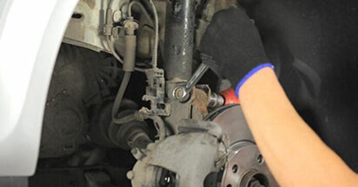 Astra H Hatchback (A04) 1.9 CDTI (L48) 2004 Tårnleje gør-det-selv udskiftnings værksted manual