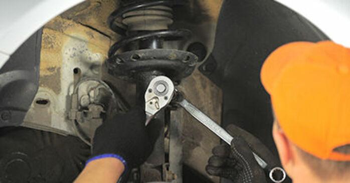 Hvordan man udskifter OPEL Astra H Hatchback (A04) 1.7 CDTI (L48) 2005 Tårnleje - trin-for-trin manualer og video vejledninger