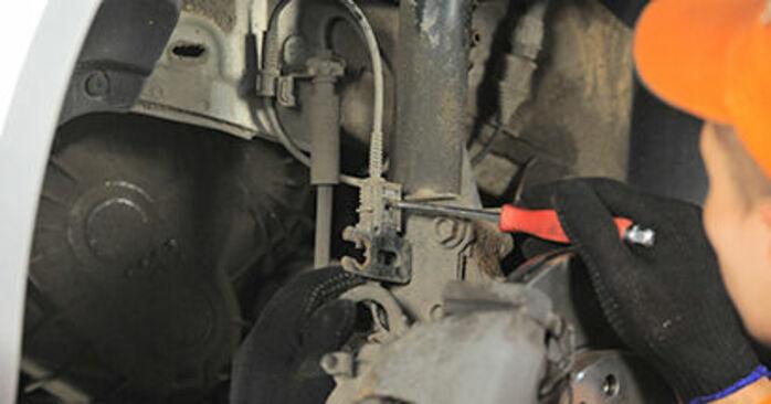 Svojpomocná výmena Horné Uloženie Tlmiča na OPEL Astra H Hatchback (A04) 1.3 CDTI (L48) 2007