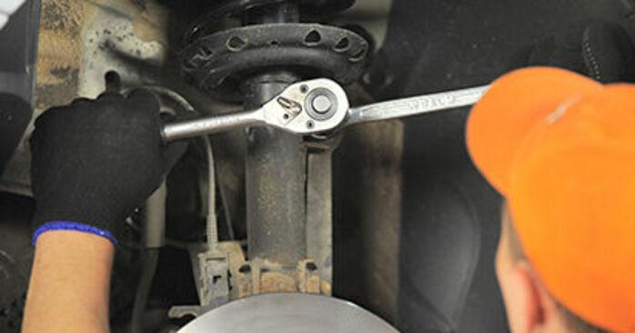 Hvordan man udskifter Tårnleje på OPEL Astra H Hatchback (A04) 2009: hent PDF manualer og video instruktioner