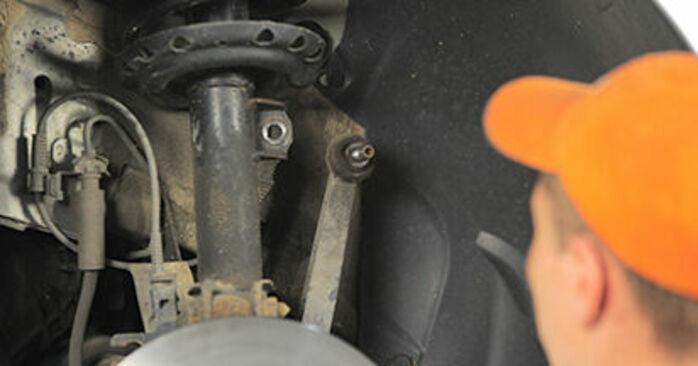 Hvor svært er det at gør-det-selv: Tårnleje udskiftning på Opel Astra h l48 1.7 CDTI (L48) 2010 - hent illustreret vejledning