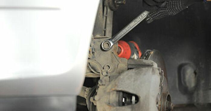 Hvor lang tid tager en udskiftning: Tårnleje på Opel Astra h l48 2012 - informativ PDF-manual