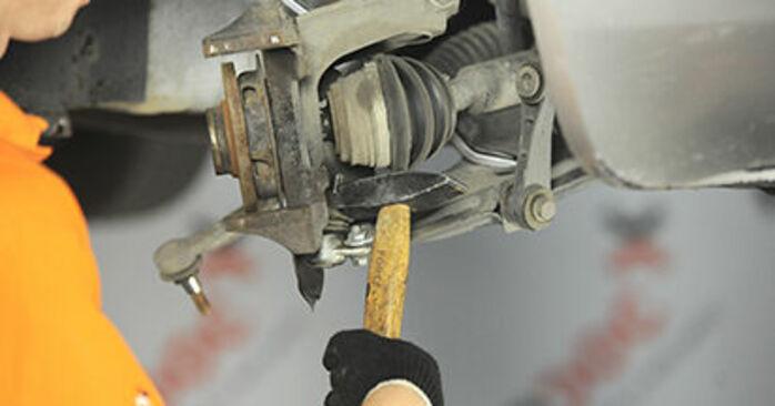 Schritt-für-Schritt-Anleitung zum selbstständigen Wechsel von Skoda Octavia 1u 2009 2.0 Radlager