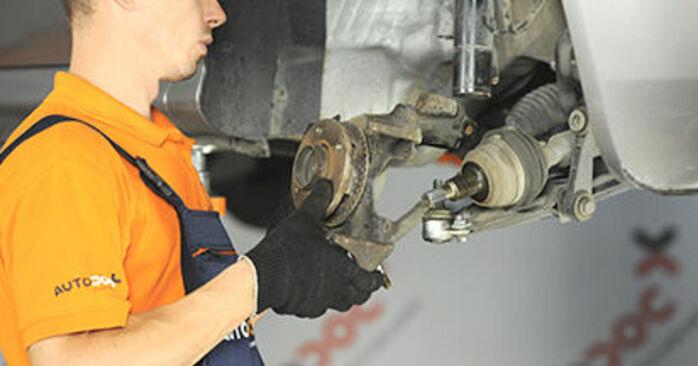 Austauschen Anleitung Radlager am Skoda Octavia 1u 2006 1.9 TDI selbst