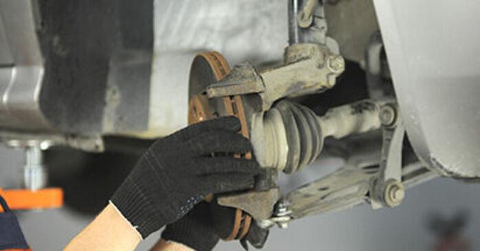 Radlager Skoda Octavia 1u RS 1.8 T 1998 wechseln: Kostenlose Reparaturhandbücher