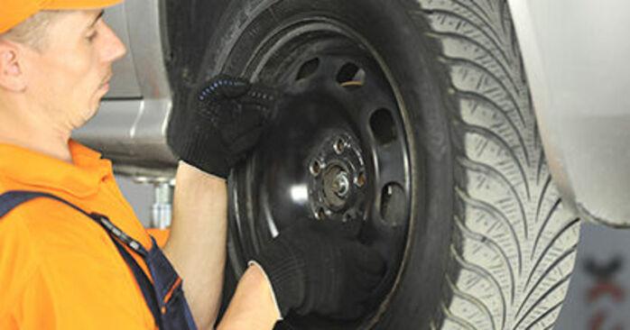 Ako dlho trvá výmena: Lozisko kolesa na aute Skoda Octavia 1u 2004 – informačný PDF návod