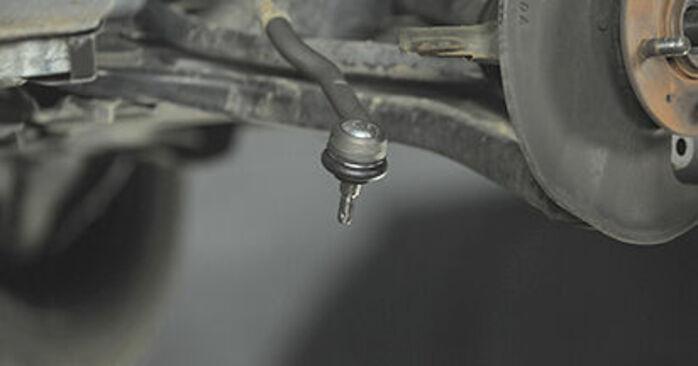 Austauschen Anleitung Radlager am Honda Jazz gd 2003 1.3 (GD1) selbst