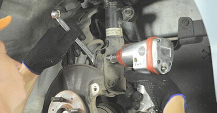 Wechseln Radlager am HONDA Jazz II Schrägheck (GD_, GE3, GE2) 1.4 iDSI (GE3) 2004 selber