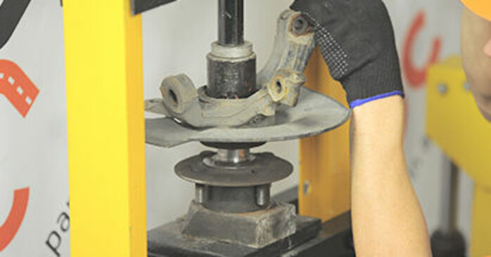 Radlager Honda Jazz gd 1.3 iDSi 2003 wechseln: Kostenlose Reparaturhandbücher